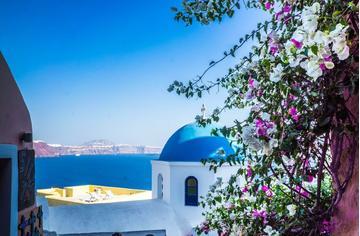 סנטוריני, יוון